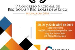 1er Cogreso Nacional de Regidores | CONAREM